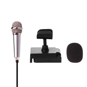 Image 2 - מיקרופון מיני מיקרופון עבור קריוקי נייד 3.5mm שקע מיקרופון מיקרופוני Microfono מיקרופון לדיבור מוסיקה קול שיא