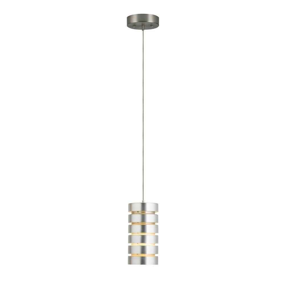 Macchione Modern Hanging Pendant Lights Brushed Nickel Steel Linea di Liara lamp for living room bedroom hotel bar light fixture