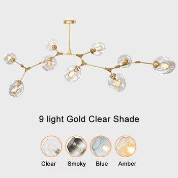 Glas Bal Hanger Kroonluchters Voor Eetkamer Woonkamer Moderne Kroonluchter Verlichting Glans Led E27 Lamp