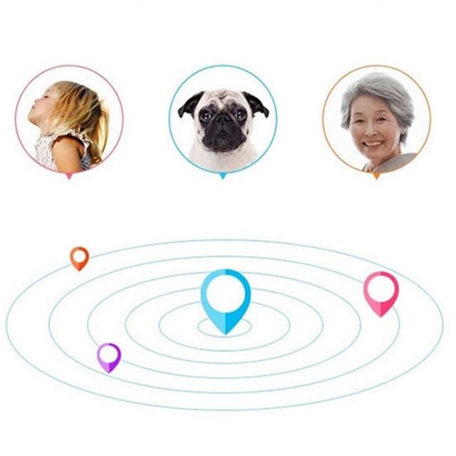 Smart GPS Tracker Key Finder Locator With Wireless Bluetooh 4.0 Home Security Anti Lost Alarm Sensor For Kids Wallet Key