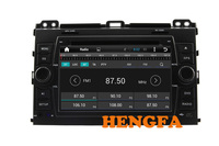 Pure Android 4 4 Car DVD Player 1024 600 For Toyota Landcruiser Prado 120 2003 2009