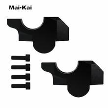 MAIKAI For HONDA XADV 300 750 1000 17-19 Motorcycle Handlebar Riser (35mm height, 10mm backward) Bars Clamp handle bar risers