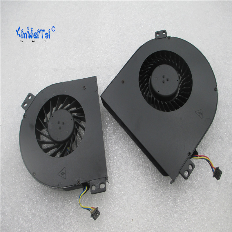 CPU & GPU cooling fan cooler for DELL m4800 KSB0605HC-CM90 KSB0605HC CM90 DC28000DEDL 0WGVF KSB0705HC CM89 02K3K7 DC28000DDDL personal computer graphics cards fan cooler replacements fit for pc graphics cards cooling fan 12v 0 1a graphic fan
