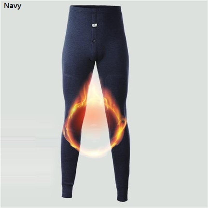 2018 nova roupa interior térmica calças grossas usar no inverno muito frio underwear para o canadá russo e os homens europeus proteger o joelho 3