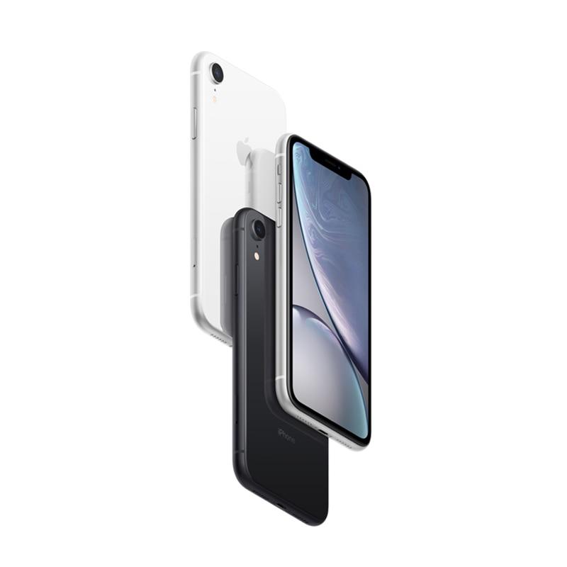 Apple iPhone XR   6,1 líquido Retina pantalla LCD totalmente desbloqueado Dual tarjetas Sim 4G Lte móvil de Apple teléfono Inteligente 2018