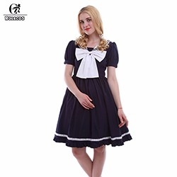 Navy-Sailor-Dress-For-Girls-Preppy-Style-Uniform-Bow-Cosplay-Costumes-Knee-Length-Princess-Costumes