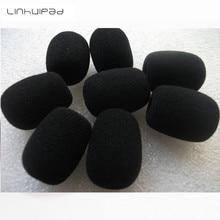 11mm Hole Diameter Foam Microphone windscreens windshields 10pcs/lot Free Shipping