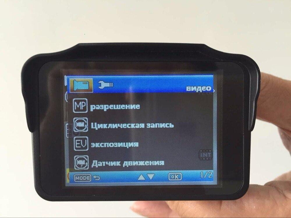 H588 car 2 in 1 combo laser strelka CT speed camera registar signal warning car radar detector dvr dash cam