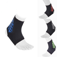 Professional Unisex Basketball Soccer Volleyball Outdoor Sports Ankle Guard High Elastic Breathable Ankle Support