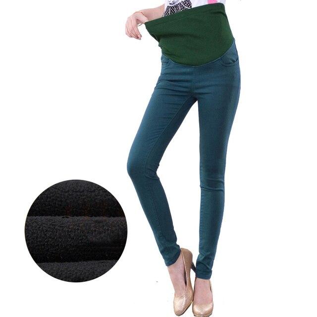 97a0b1687 Pantalones de maternidad elásticos ropa de maternidad para mujeres  embarazadas ropa de embarazo para invierno verano