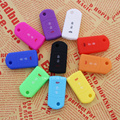 Silicone Cover Fit  For MAZDA 2 3 5 6 RX-8 MX-5 Flip Remote Key Case 3 BTN 11C BK Car Styling