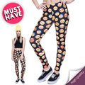 Hot Sale Novelty 3D Printed Emoji jeggings Summer Winter Leggings Women Sexy Leggins Fitness Legging Calzas Mujer legins Girls