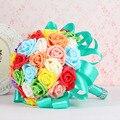 Высокого класса моделирования букет невесты ручной цветы Корейской ручной свадебные принадлежности цветы