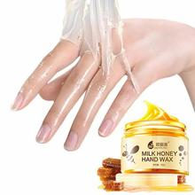 Hand Care Cream Milk Honey Hand Care Mask Moisturizing White