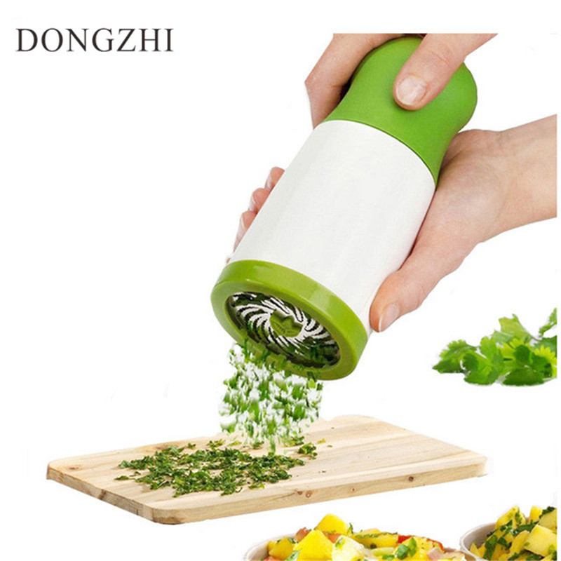 DONGZHI Brand Vegetable Chopper Multifunctional Manual Vegetable Spiral Slicer Clever Cutter Kitchen Tools Graters FT015