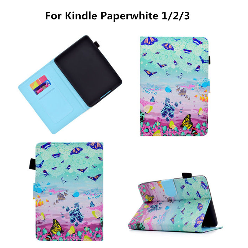 Smart Case For Kindle Paperwhite PU Leather Cover Auto Sleep/Wake for Amazon Kindle Paperwhite 1 2 3 (2012 2013 2015 ) E-book for amazon kindle paperwhite 1 2 3 hand holder strap cover senior pu leather case for amazon kindle e book for kpw 123 bag skin