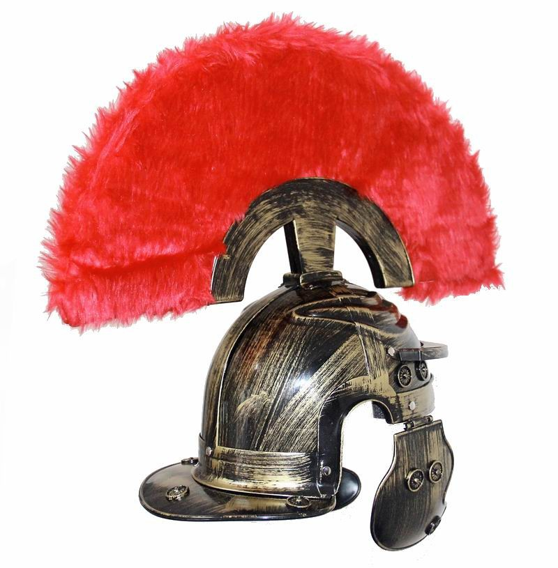 Cosplay dança roma antiga capacete guerreiro boné spartacus chapéu