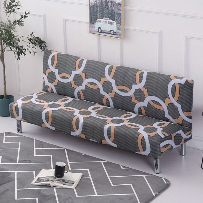 Awe Inspiring Us 12 81 30 Off Printed Sofa Bed Cover Foldding Elastic Slipcovers Cheap Couch Cover Loveseat Stretch Furniture Covers Single Seat Sofa Cover In Gmtry Best Dining Table And Chair Ideas Images Gmtryco