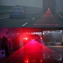 Универсальный автомобильный противотуманный светодиодный светильник, лазерный задний противотуманный светильник, задний противотуманный фонарь для автомобиля, мотоцикла, автомобиля, противотуманная фара, торможение, стояночный сигнал, предупреждающие огни