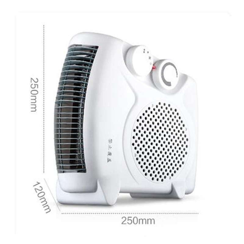 110V 60Hz 3 Gear Mini Electric Warm Air Blower Electric Air Heater Room Fan Heater Cold and Warm Dual Purpose tp760 765 hz d7 0 1221a