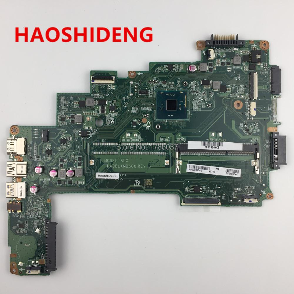 A000391540 DA0BLXMB6G0 for Toshiba Satellite L50 L50-C C55 C55-C5390 series Motherboard .All functions 100% fully Tested! free shipping v000275410 for toshiba satellite c850 c855 intel laptop motherboard all functions fully tested