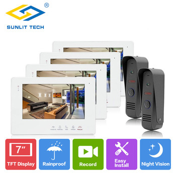 4 Monitor Indoor/Outdoor Security System