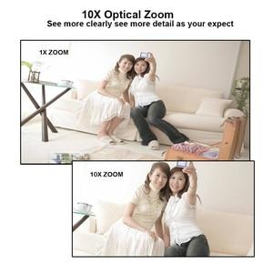 Image 5 - 1080 P/5MP 10X optik Zoom 5 50mm otomatik odak AHD PTZ kamera 50M IR su geçirmez RS485 UTC güvenlik Bullet güvenlik kamerası