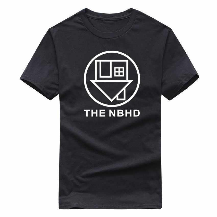 2017 Районной Т Рубашки Мужчин Бренд Nbhd Дом Хлопок Футболка Мужской Топ Тис Camisas