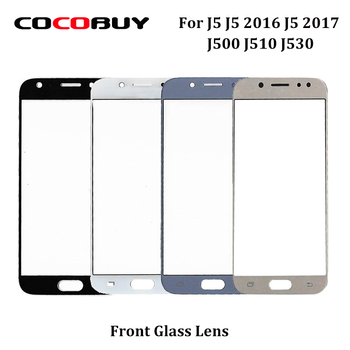 Novecel 1PCS Outer Front LCD Touch Screen Glass Lens Panel Replacement For Samsung J5 J500 J5 2016 J510 J5 2017 J530 5 5.2 image