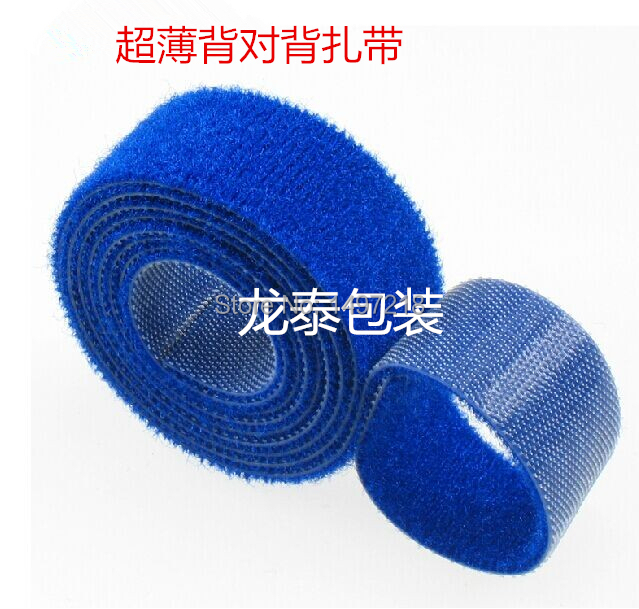 86d7aaf653cd Freeshipping 2.5cm x 5m/roll ultra thin cable tie nylon strap Power Wire  Management Magic Tape Sticks Hook & Loop Tape