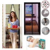 Summer Magic Anti Mosquito Screen For Window Curtain Magnetic Soft Door Mesh Insect Fly Bug Anti Mosquito Net Netting For Home