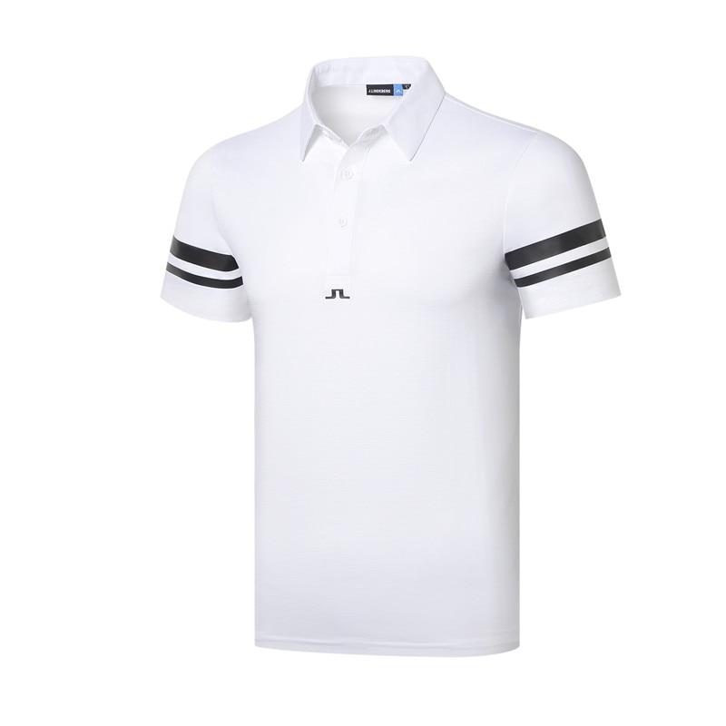 Cooyute nouveaux hommes Sportswear à manches courtes JL Golf T-shirt 4 couleurs Golf vêtements S-XXL au choix loisirs Golf chemise livraison gratuite - 4