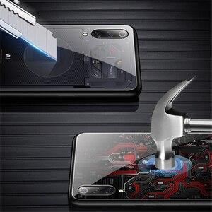Image 3 - Роскошный чехол из закаленного стекла для Xiaomi Mi 9, чехол из ТПУ с мягкими краями для Xiaomi Mi 9 Mi9 se, чехол Aixuan