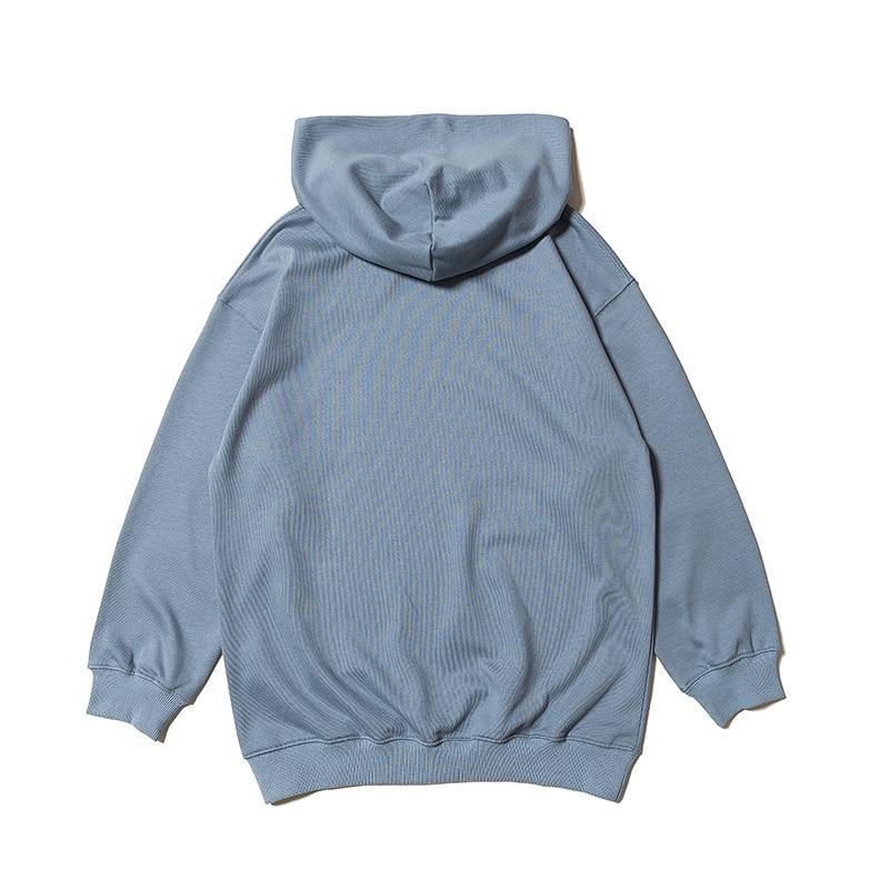 Femmes Bleu West Pull À Hiphop Hoodies Kanye Saison Oversize Version kaki 6 Streetwear Marque Sweat marron Hommes Meilleure Capuche 18fw 0wqn1T1