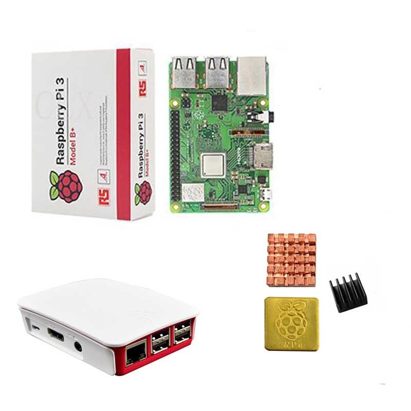 Raspberry Pi 3 Model B B Plus or Raspberry Pi 3 Model B ABS offical Case