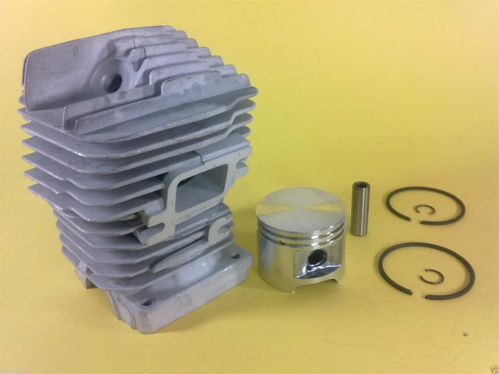 CYLINDER KIT 47MM FITS CHAINSAW ST. MS310   CHAIN SAW  ZYLINDER ASSEMBLY W/ PISTON  RINGS PIN CLIPS REPL. OEM# 1127 0201218 chainsaw piston assy with rings needle bearing fit partner 350 craftsman poulan sm4018 220 260 pp220 husqvarna replacement parts