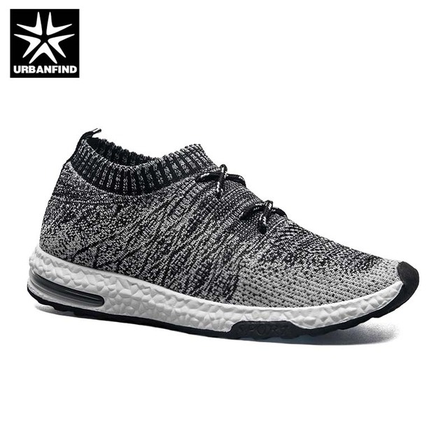 5aecedd2d2549 2019 Fly Knitted Shoes Man Fashion Summer Sneakers Size 39-44 Hot Sale Man  Breathable Light Socks Shoes