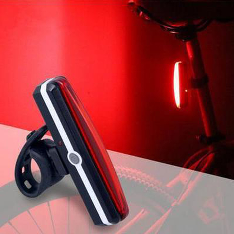 Cycling LED Taillight USB Rechargeable Bicycle Rear Light Waterproof Bike Tail Light Back Lamp For Bycicle