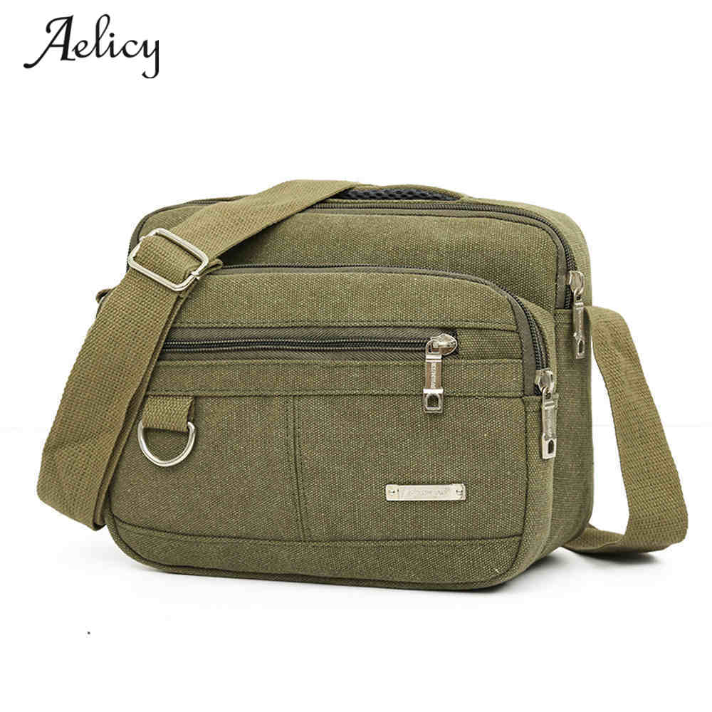 Aelicy Brand 2017 Multifunction Men Canvas Bag Casual Travel Flaps Men's Crossbody Bag Vintage Men Messenger Handle Bags Bolsa augur men s messenger bag multifunction canvas leather crossbody bag men military army vintage large shoulder bag travel bags