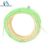 Maximumcatch Real Switch Fly Fishing Line WF4/5/6/7/8F 100FT Double Color Weight Forward Floating Fly line