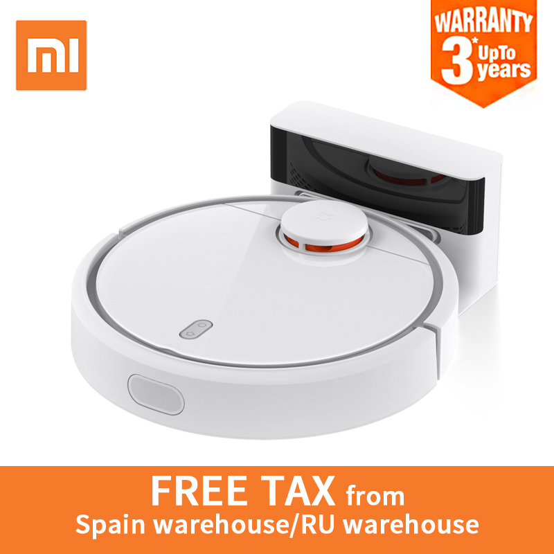 цены Global Version Original Xiaomi MI Robot Vacuum Cleaner Automatic Sweeping Dust Sterilize Smart Planned Mobile App Remote Control