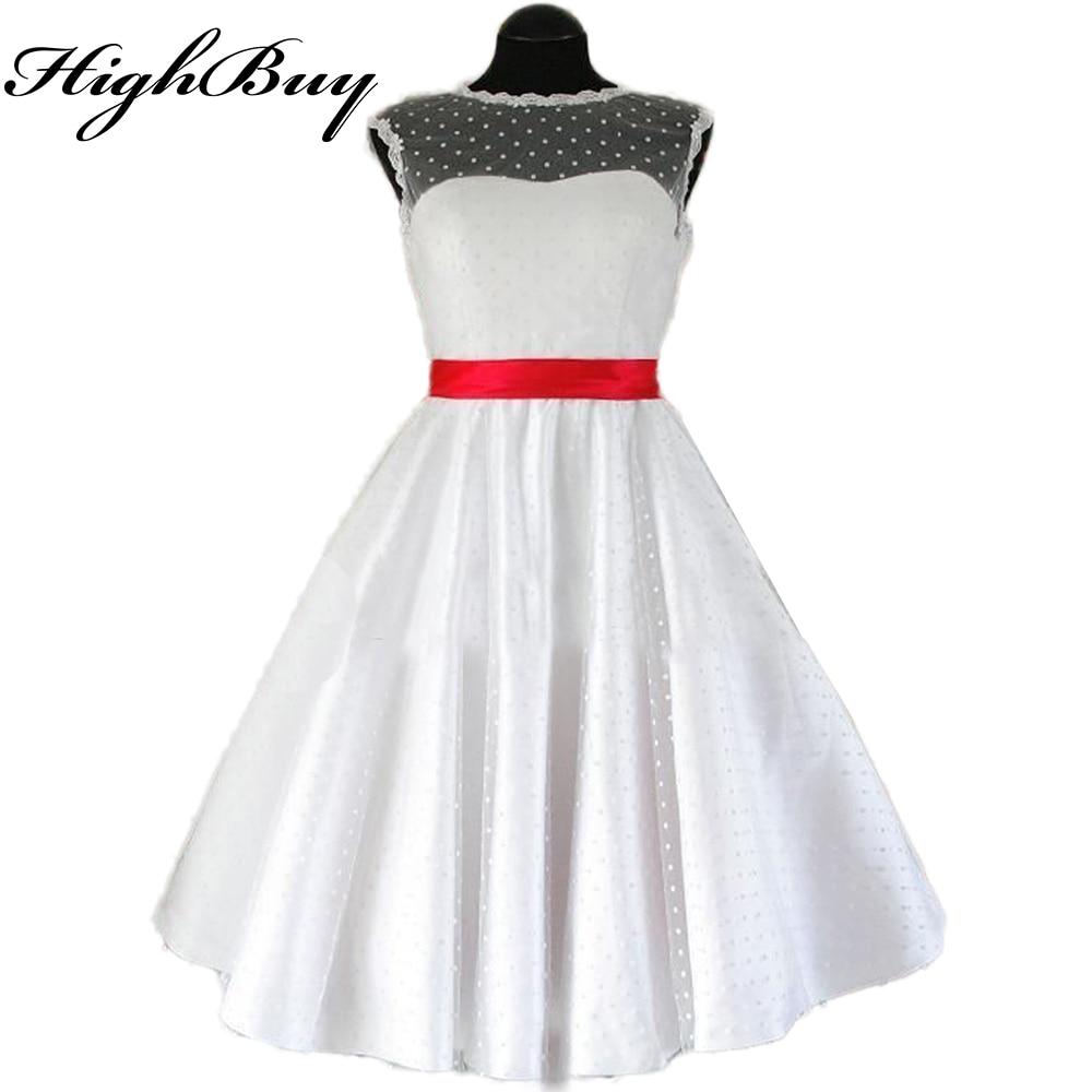 Wedding Dresses Wholesale : Highbuy short bridal gowns beach wedding dress knee length polka dot