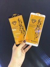 Bonaier חדש מלא דבק ציפוי מזג זכוכית סרט לxiaomi Redmi הערה 5 פרו Redmi הערה 5 הגלובלי גרסת מסך מגן + מתנות