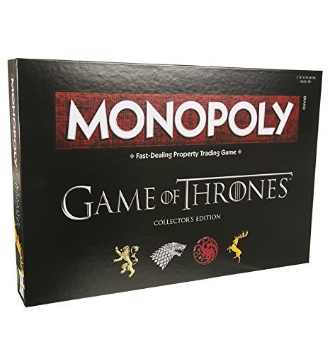 The Game Of Thrones Collector's Edition Board Games