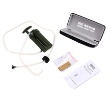 OUTAD Portable Outdoor Hiking Camping Water Filter with Purify Pump and Storage Box For Outdoor Survival Soldier