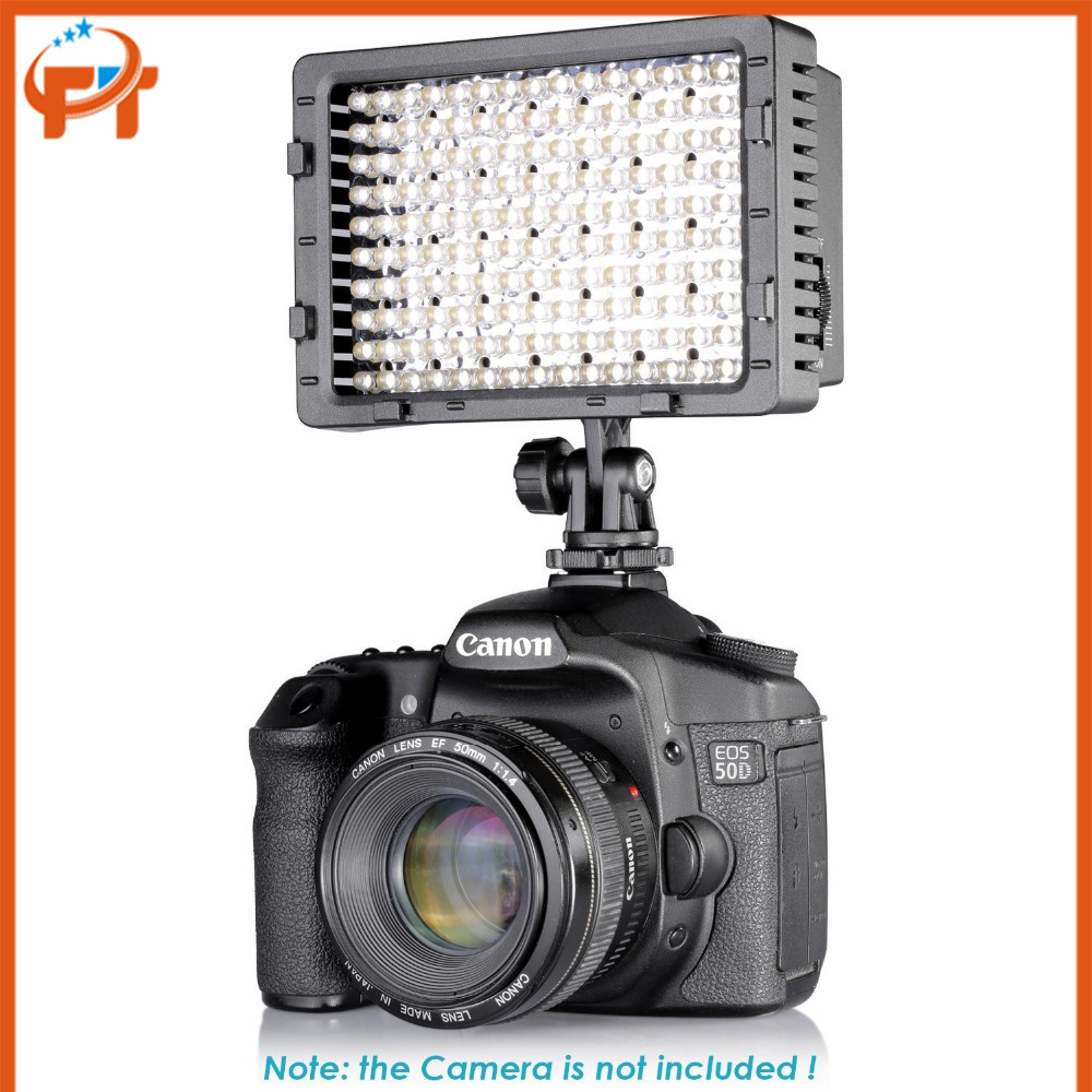 160 LED CN 160 Dimmable High Power Panel Digital Camera / Camcorder led Video Light for DV&Canon