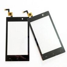 Nouveau noir écran tactile pour micromax a093 capactive tactile écran avec digitizer façade en verre de remplacement complet track no. + 3 m autocollant
