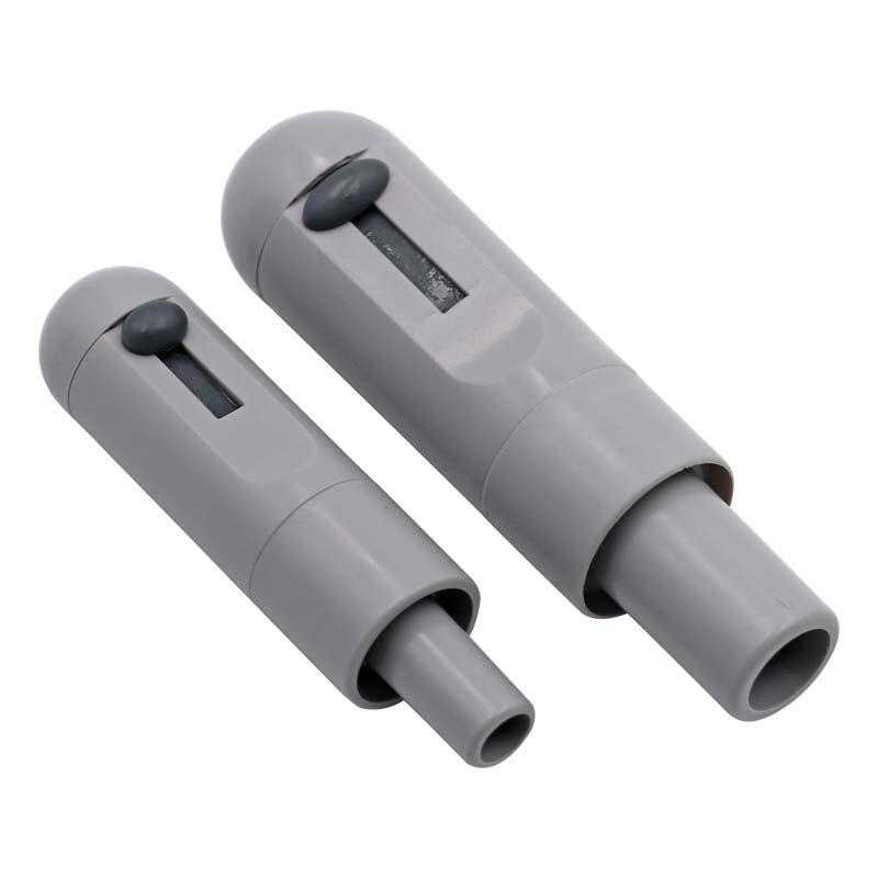 Plastic Grey Universal Saliva Swivel Sucker Suction Handle With Adjustable Valve Autoclavable Dental Instruments