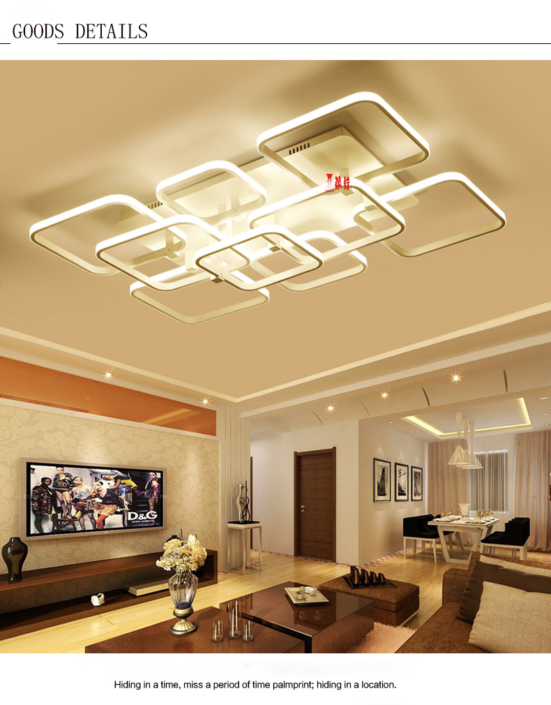 Kemasi Rectangle New Aluminum living room bedroom modern led ceiling lights luminarias para sala White Color led ceiling lamp rectangle new white acrylic modern led living room bedroom kitchen home deco ceiling lights luminarias para sala ceiling lamp