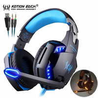 Kotion EACH G2000 Best Casque Stereo Gaming Headphones Deep Bass Game Earphone Headset With Mic LED
